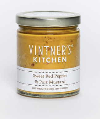 Sweet Red Pepper and Port Mustard