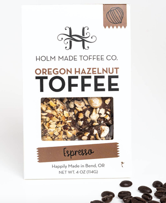 Holm Hazelnut Toffee with Espresso